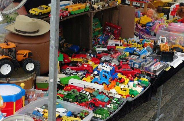 Grondplaats rommelmarkt zaterdag per meter